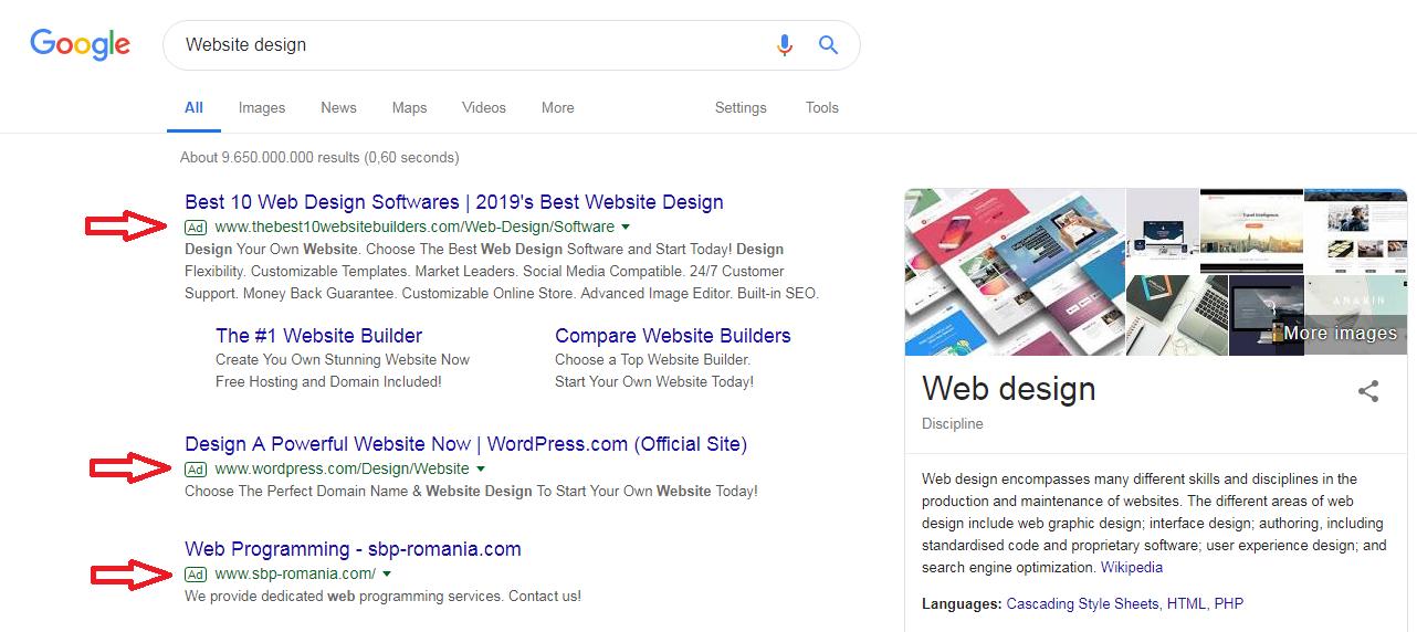 سامانه تبلیغات گوگل یا Google AdWords و پرداخت هزینه به گوگل