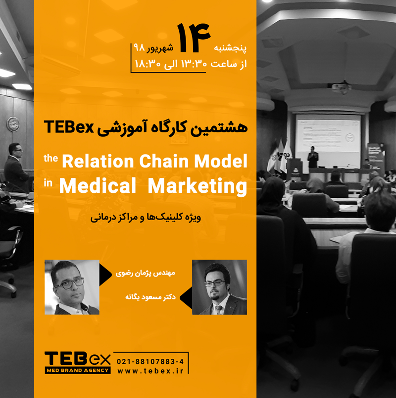 هشتمین کارگاه آموزشی TEBex