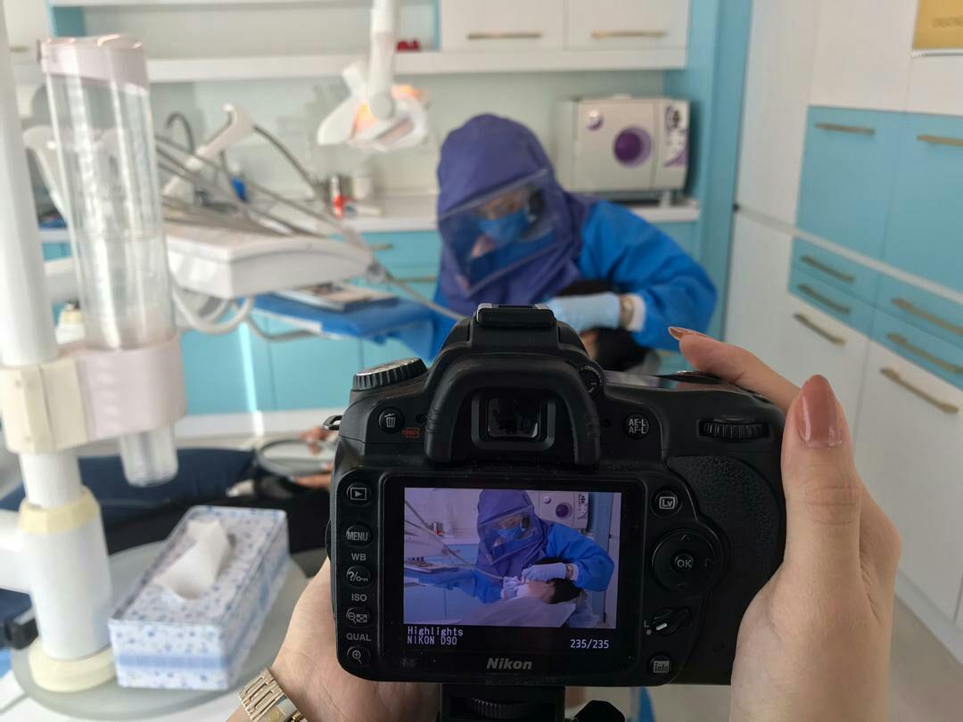 عکاسی از دندانپزشک برای بازاریابی