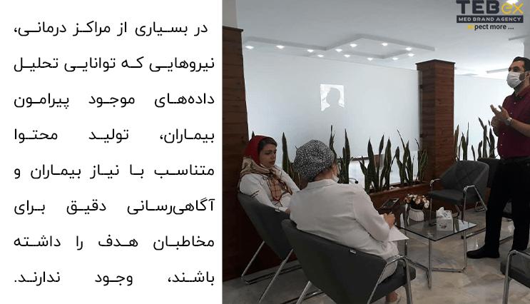 برندینگ پزشکی با اعضای کلینیک