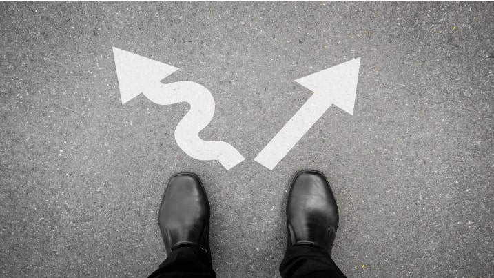 دو راهی در انتخاب